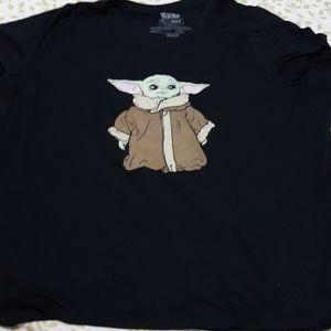 Baby Yoda Ladies T Shirt
